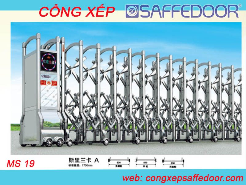 cổng xếp inox tp hcm