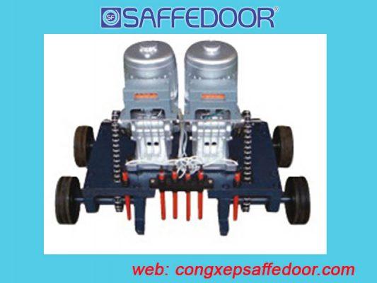 motor cổng xếp điện