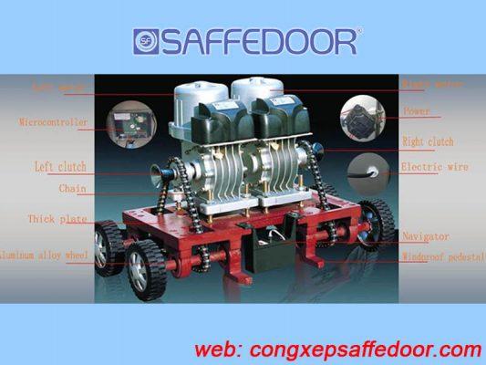 motor cửa cổng xếp